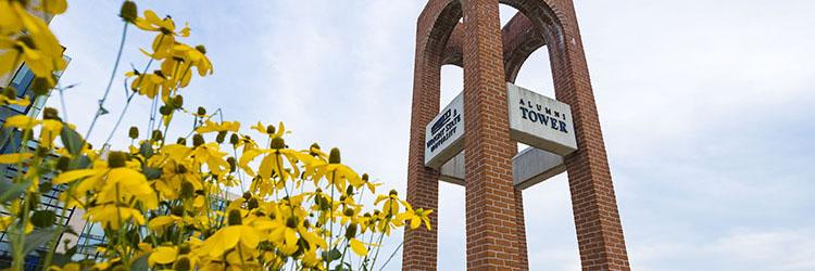 photo of alumni tower